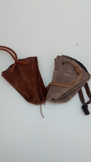 leather purse pocket